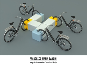 Bike Parking + Bench / Concept 2011